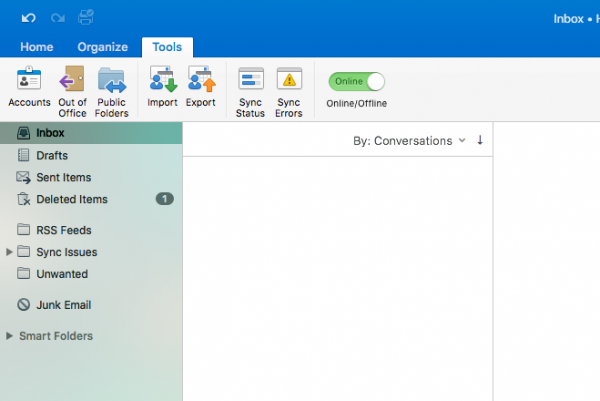 configure mac outlook 2016