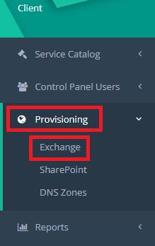 hc provisioning